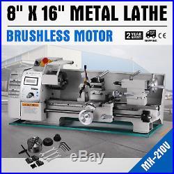 Brushless motor Mini Metal Lathe Woodworking Tool Automatic Motorized Machine