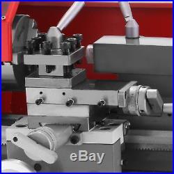 Brushless motor Mini Metal Lathe Woodworking Tool Bench Top Motorized Metal Wood
