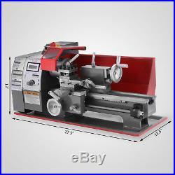 Brushless motor Mini Metal Lathe Woodworking Tool Drilling Milling 2500RPM