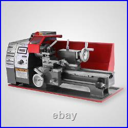 Brushless motor Mini Metal Lathe Woodworking Tool Milling Metalworking 2500RPM