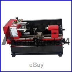 C0-125-220V SIEG Mini Metal Lathe 50mm with 3 Jaw Chuck Metal Processing Machinery