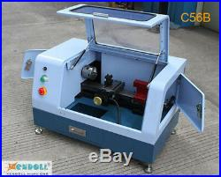 C56B 220V MACH3 Control Micro Mini CNC Lathe Machine Hardware Metal Woodworking