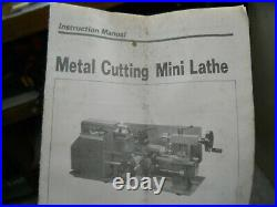 CENTRAL MACHINERY 7 In. X 10 In. Precision Benchtop Mini Lathe