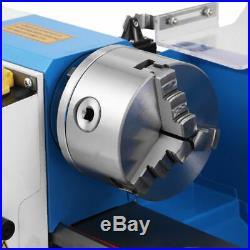 CJ0618 Metal Lathe trabajando Máquina mismo Procesamiento Metal Mini Torno