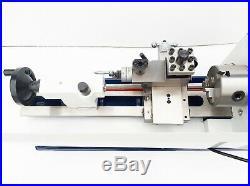 CJ18 7x12 Metal Mini Lathe 3(80mm) 3 jaw chuck