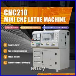 CNC Mini Metal Lathe Machine home fit in small location well-designed Precision