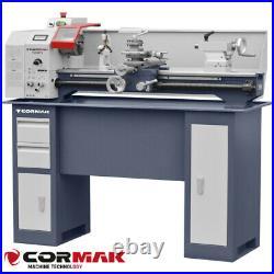 CORMAK MINI 280x700 VARIO torno con base para metal 750W Precisión Motorizado
