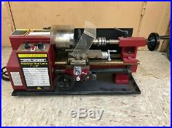 Central machinery 7X10 mini metal lathe harbor freight 93212
