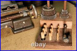 Craftsman 109 Mini Benchtop Metal Lathe Vintage Antique! EXCELLENT CONDITION