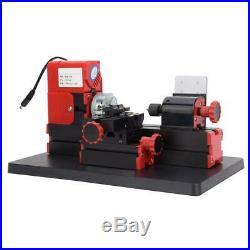 DC 12V 2A 24W Z20002 DIY Mini Metal Motorized Lathe Machine 20000rpm Motor