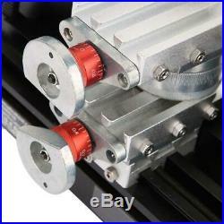 DC 12V 5A 60W TZ20002MR DIY Mini Metal Rotating Lathe Machine 12000RPM Motor