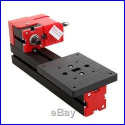 DC12V/2A Metallo tornio macchina/Mini Turning Metal Lathe Machine Insegnare DIY