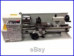 DIGITAL PRECISION METAL MINI LATHE 7 x 14 MACHINE VARIABLE SPEED 550W 2500 RPM