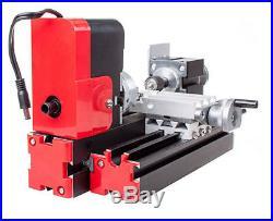 DIY 20000rev/min Motorized Mini Metal Working Lathe Machine CNC Tool 24W