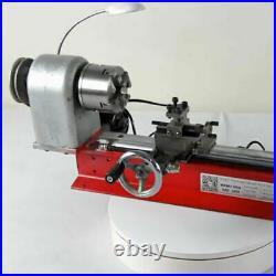 DIY CNC Metal Motorized Mini Lathe Machine for Metal Wood Model Making 2500RPM