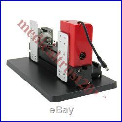 DIY Mini Wood Metal Motorized Lathe Machine Woodworking Hobby Craft Tool Kit