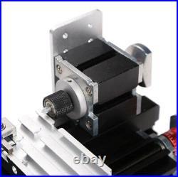 DIY Tool Modelmaking 60W Power Metal Mini Lathe Machine Woodworking Soft Metal