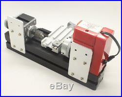 DIY Tool Wood Metal Motorized Mini Lathe Machine