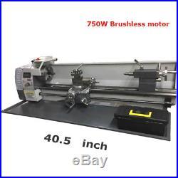 Elongated Precision Mini Metal Lathe 750W Brushless Motor WM210V 110V