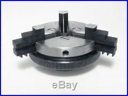 Emco Unimat DB SL Mini Lathe 3-Jaw Self Centering Chuck, Ref 1001