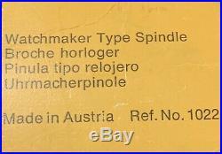 Emco Unimat DB SL Mini Lathe 8 mm WW Watchmaker Spindle Ref. 1022 1090 DB 2600
