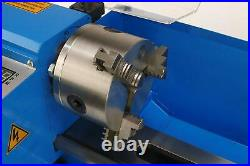Erie Tools 7 x 14 Precision Bench Top Mini Metal Milling Lathe Variable Speed 25