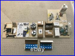 Grizzly G0765 7 x 14 Variable-Speed Benchtop Mini Metal Lathe AND Accessories