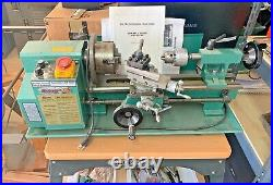 Grizzly G8688 7 X 12 Mini Metal Lathe With Stand And Extras, Local Pickup Only