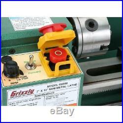 Grizzly G8688 7 x 12 Mini Metal Lathe