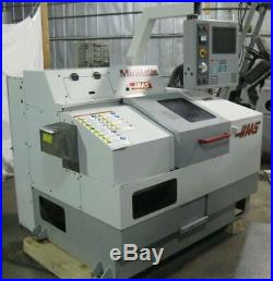 Haas Mini Lathe 2001. Rare Gang Tool Cnc Lathe. Only 4300 Spindle Hours