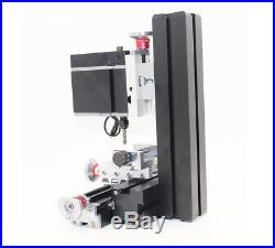 High Power 60W Metal Mini Lathe DIY Tool Micro Milling Machine Millier 12000rpm