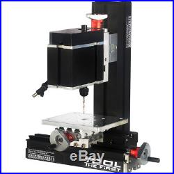 High Power Metal Mini Lathe DIY Micro Drilling Machine Wood Driller 12000rpm 60W