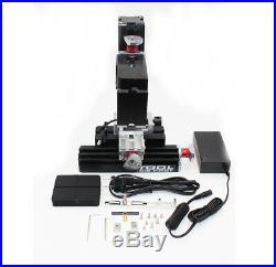 High Power Metal Mini Lathe DIY Micro Milling Machine Millier 12000rpm 60W