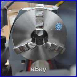 High Precision 750W Mini Digital Metal Lathe Variable Speed Workbench 8''x16'