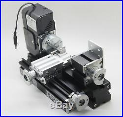 High Quality Motorized DIY Mini Metal Lathe Machine Tool For Hobby Model Making