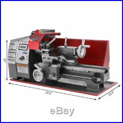 Hot 110V Mini Metal Turning Lathe Woodworking Cutter Machine 7''×12'' Benchtop