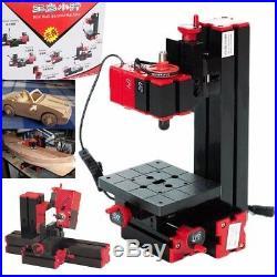 Jig-Saw 6 In 1 Mini Multi Metal Lathe Wood Model Milling Drilling Machine