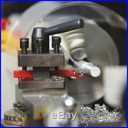 Klutch 7in. X 12in. Mini Metal Lathe 3/4 HP, 110V Motor