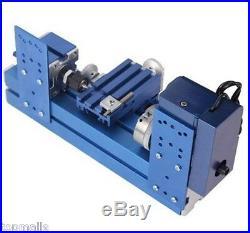 Lathe Machine DIY Tool Universal Soft Metal Mini Turning Metal lathe