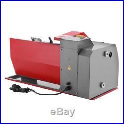 Lathe machine Metal Mini Metal Woodworking Drilling 600W Turning Automatic 7×12