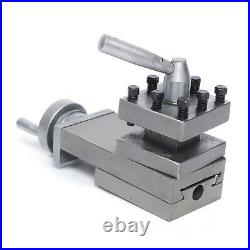 Lathe tool post assembly Holder Mini Lathe Accessories Metal Quick Change