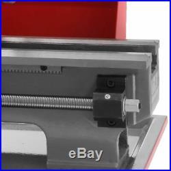 Metal Automatic Woodworking Turning Drilling Lathe machine Mini Metal 600W
