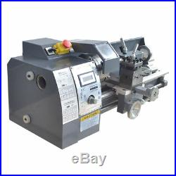 Metal Bench Lathe Mini CNC Milling Turning Lathe 600W Brushless Motor 110V