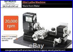 Metal Lathe Machine Mini DIY Universal Turning Tool for Soft Metal Plastic ect