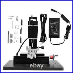 Metal Mini Lathe DIY Micro Milling Machine High Power Millier 12000rpm 60W HIghQ