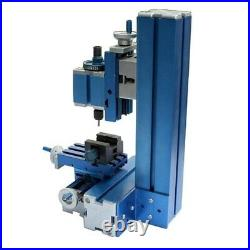 Metal Mini Milling Machine Micro DIY Woodworking Power Tool for Studying Hobby