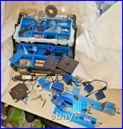 Metal Mini Multipurpose Power Tool Lathe Drilling Milling DIY Kit