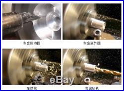 Metal lathe/mini lathe/lathe for metal working/desktop metal milling small lathe