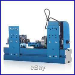 Mini 24W DIY School Motorized Lathe Machine Tool Metal Woodworking Hobby Model