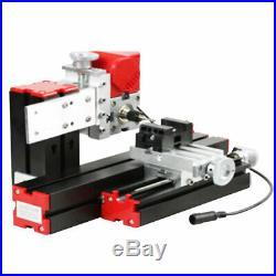 Mini 6 in 1 Motorized Jigsaw Grinder Wood Metal Lathe Woodworking 100-240V GS